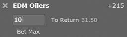 Bet365.com American Odds Example