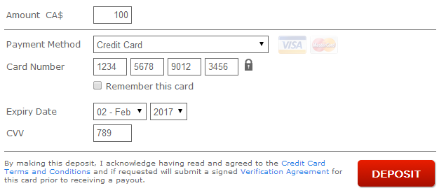 Bodog Visa