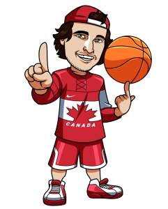 Sports Betting Canadian Basketball Mascot