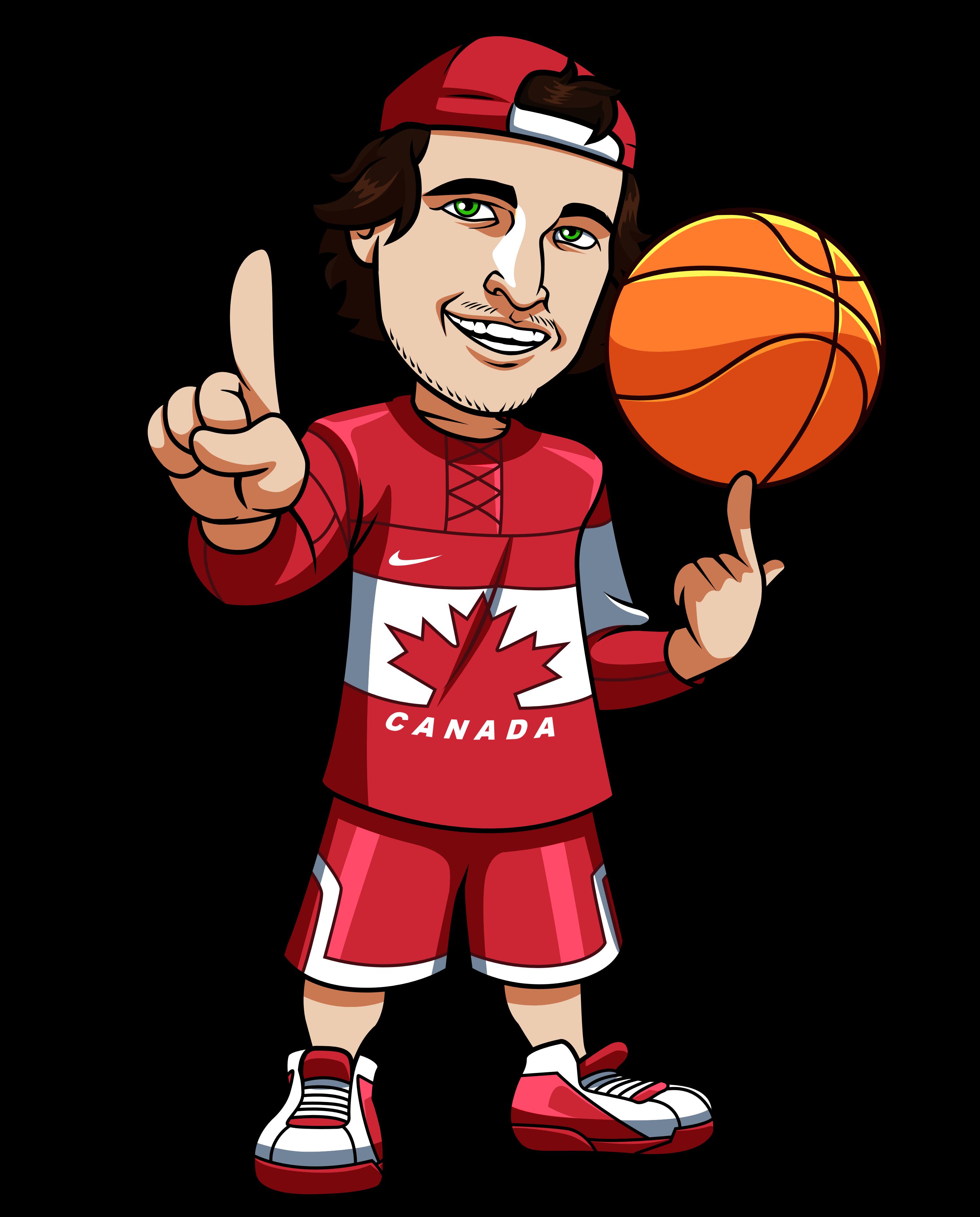Sports Betting Canadian Basketball Mascot