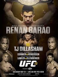 UFC 173 Poster