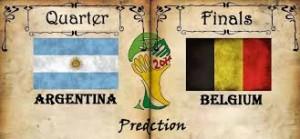 Belgium vs Argentina