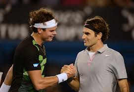 Raonic and Federer