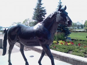 Northern Dancer Statue