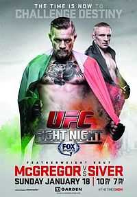 UFC Fight Night McGregor vs Siver