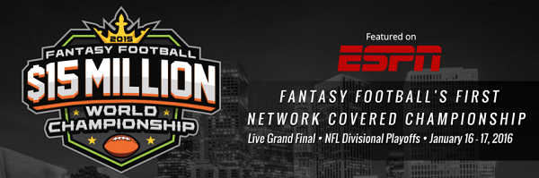 DraftKings Fantasy Football Championship 2015