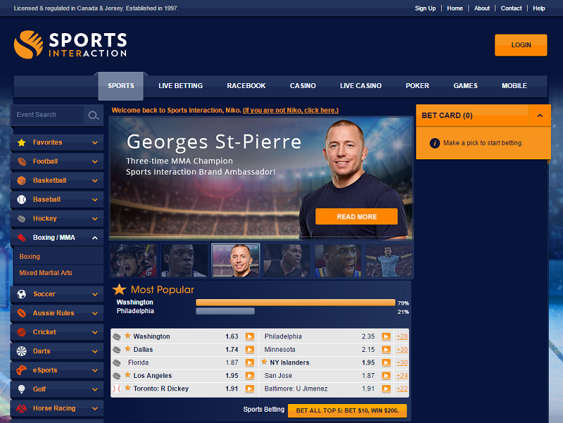 SportsInteraction.com