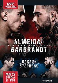 Almeida vs Garbrandt
