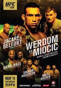 UFC 198 Poster