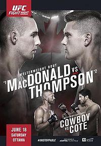 UFC Fight Night Ottawa