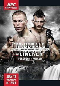 UFC McDonald vs Lineker
